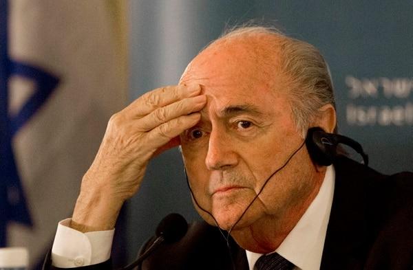 El presidente de la FIFA, Joseph Blatter, ha sido cuestionado durante su mandato.