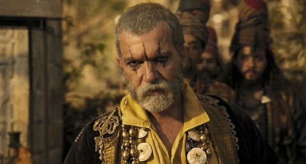 Así se ve Antonio Banderas en su papel de King Rassouli, el villano de la película. Cortesía de Romaly