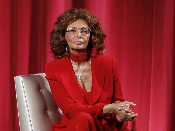 Sophia Loren. Foto: AP
