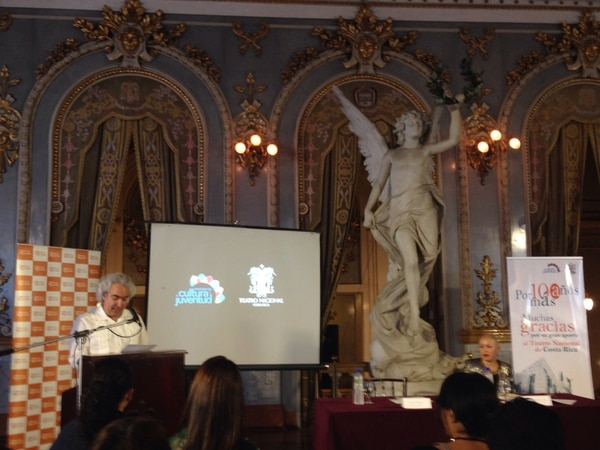 : El ministro de cultura Manuel Obregón participó en el anuncio