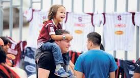 Estadio Nacional vivió otra vez el fútbol en familia