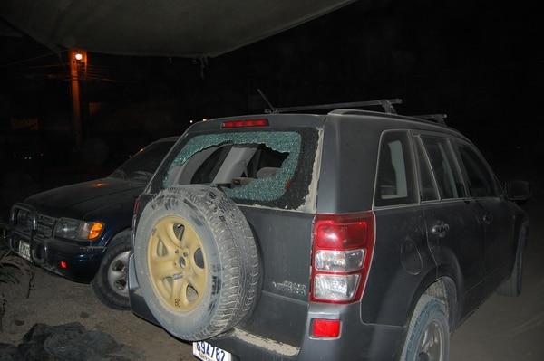 Según la acusación, los guardaespaldas dispararon a los fotógrafospero sin herirlos. El vehículo de Avilés sí fue dañado por las balas.