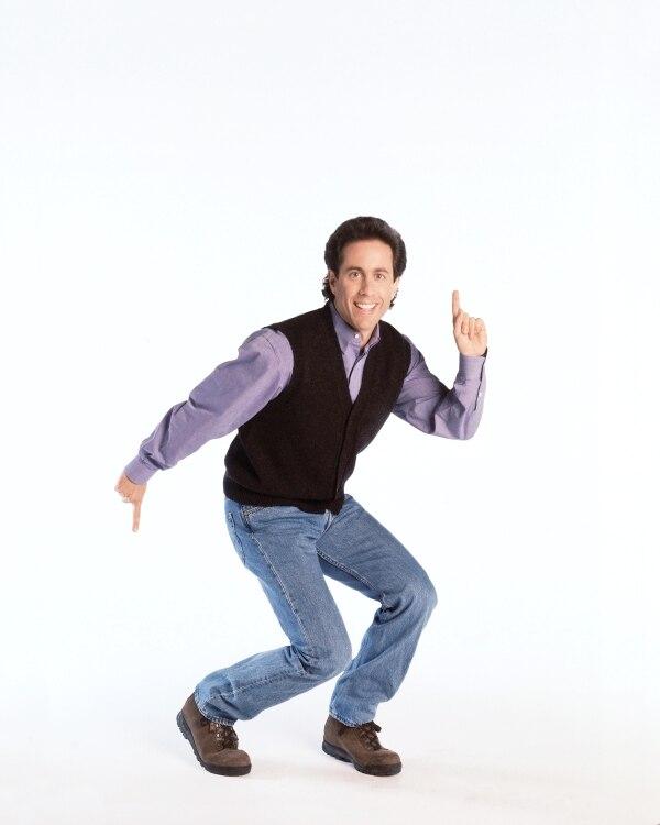 Actor: Jerry Seinfeld. Fotografía: Canal Sony para La Nación