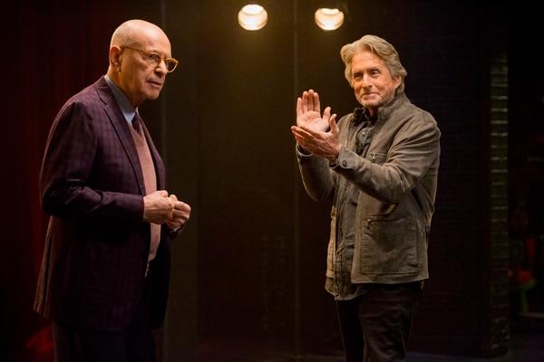 Los actores Alan Arkin y Michael Douglas regresan en la segunda temporada de 'El método Kominsky', que se estrena este 25 de octubre. Fotografía: Netflix para La Nación