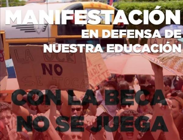 Los alumnos de la UCR convocaron a una manifestación el próximo lunes 19 de abril a las 10 a. m. Foto tomada de Facebook de FEUCR