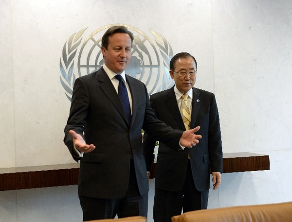 El secretario general de la ONU, Ban Ki-Moon, y el ministro de Relaciones Exteriores ruso, Serguei Lavrov, pidieron poner fin al derramamiento de sagre. | AFP.