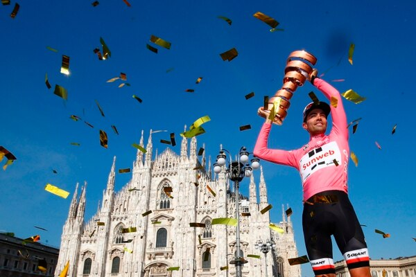 Tom Dumoulin es el campeón del Giro.