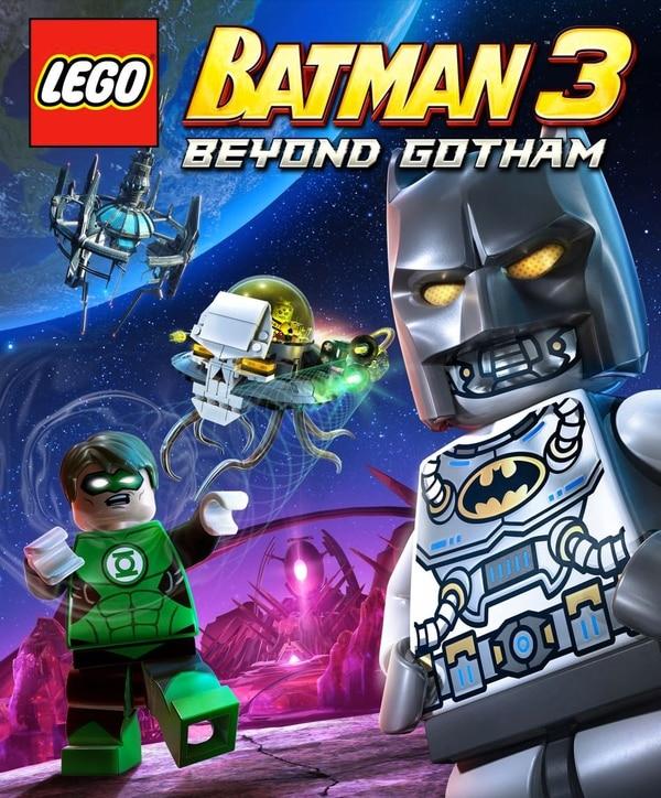 Póster del videojuego 'LEGO Batman 3: Beyond Gotham'.