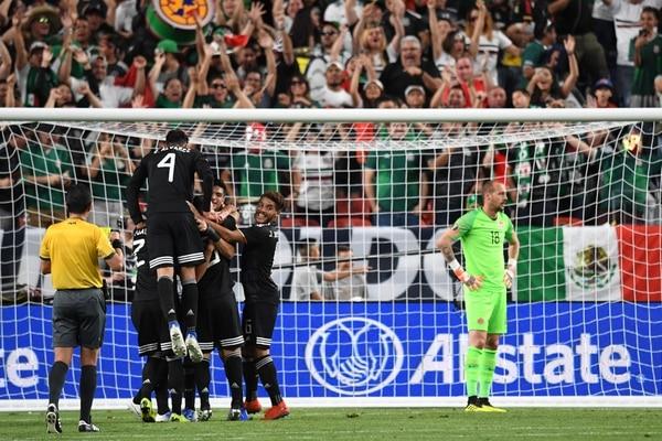 México se perfila a ganar el Grupo A de la Copa Oro. Foto: AFP