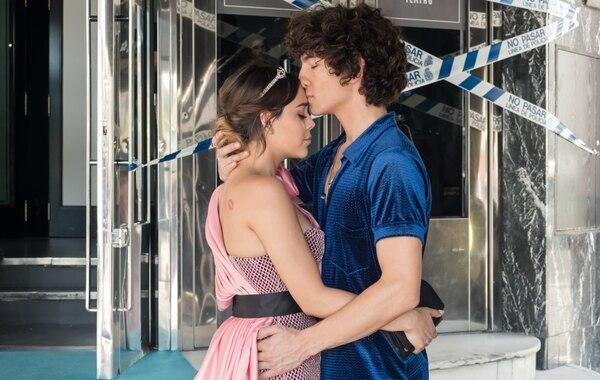 La relación de Lu y Valerio no se medirá en la cantidad de encuentros que tienen en los nuevos capítulos, sino en la calidad detrás de ellos. Fotografía: Netflix para La Nación