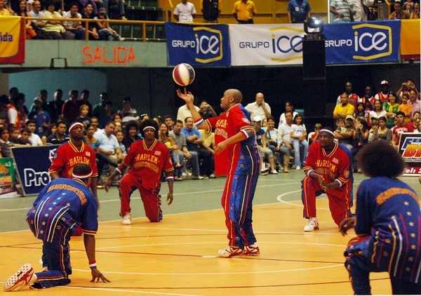 Los Trotamundos de Harlem se presentaron por última vez en nuestro país en el 2009 en el Palacio de los Deportes en Heredia.