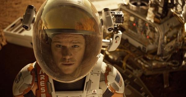 Matt Damon, por 'The Martian', podría ganar un Óscar a mejor actor principal. Archivo
