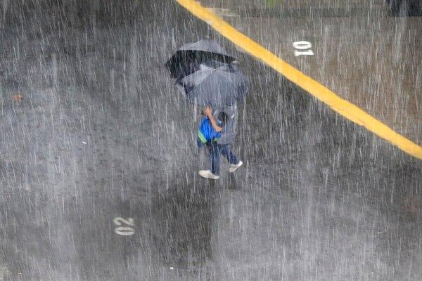 La falta de lluvias en este mes de la época lluviosa impacta las reservas del AyA. Foto: Rafael Pacheco