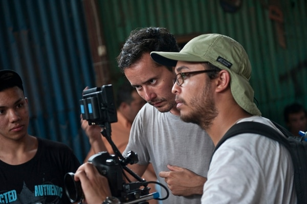 Neto Villalobos aseguró que uno de los principales requisitos para participar es que las personas tengan ganas de ser parte del proyecto. A su lado Nicolás Wong (con lentes).