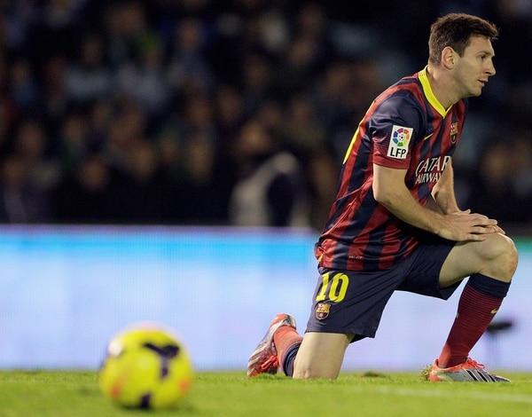 Leo Messi ya se recuperó de su lesión en la pierna izquierda.