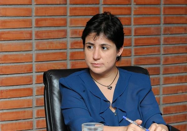 Montserrat Solano Carboni, defensora de los Habitantes. | EYLEEN VARGAS