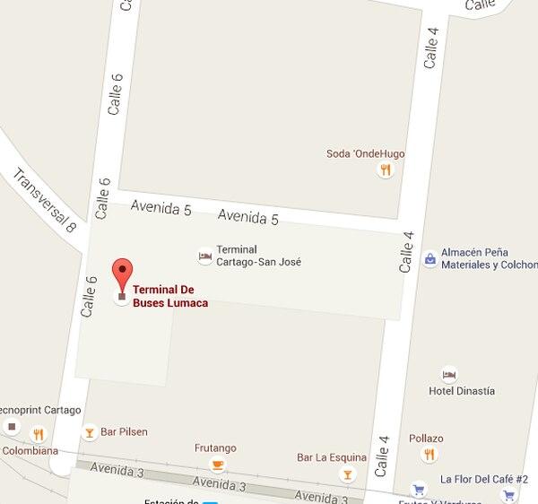 El homicidio ocurrió frente a la terminal de Lumaca, en San José.