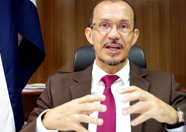 El director del IAFA, Javier Vargas Vindas fue destituido la tarde del jueves de su puesto por la Junta Directiva de la institución. Captura de Youtube