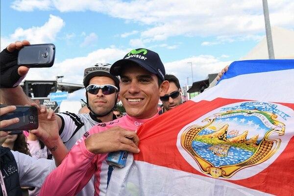 El logro más importante del ciclismo centroamericano llegó cuando Andrey Amador se vistió de rosa en el Giro de Italia en 2016.