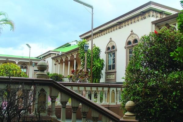 Octubre. Edificio Max Bansen, dentro del Hospital San Juan de Dios, en San José. Año: 1930. Arquitectos: José María Barrantes y Luis Matamoros. Foto: Icomos para LN.