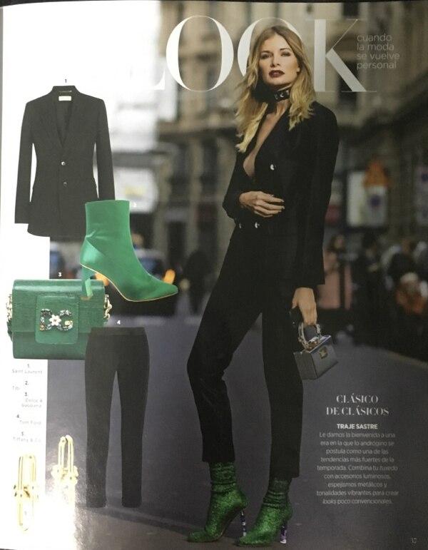 Leonora Jiménez apareció hace unas semanas en la prestigiosa revista estadounidense 'Harper's Bazar'.