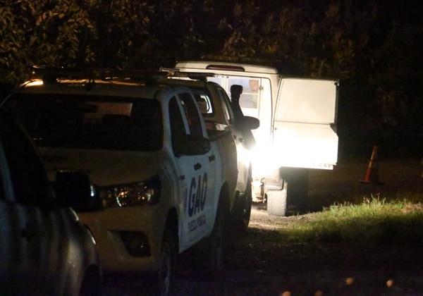 El incidente ocurrió sobre la ruta nacional 247, que lleva de Guapiles hasta Barra del Colorado. Foto: Reiner Montero