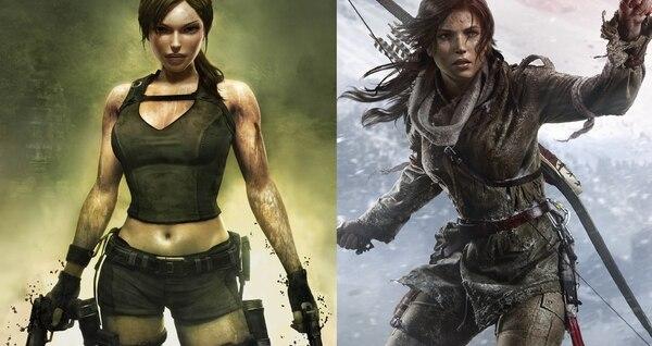 El personaje de Lara Croft tuvo una reinvención en el 2013. La exploradora británica cambió radicalmente su shorts y pistolas por un atuendo más realista.