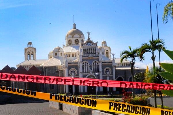 El 13 de mayo la iglesia anunció la decisión de no realizar la romería este año. Foto: Archivo/Rafael Pacheco.