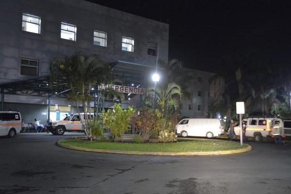 El niño fue atendido en el servicio de Emergencias del Hospital San Rafael de Alajuela. Foto: Francisco Barrantes.
