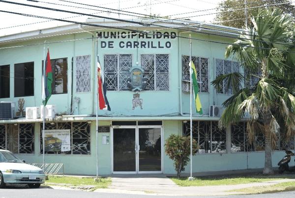 La Fiscalía secuestró documentos en la secretaría del Concejo de la Municipalidad de Carrillo. Foto: Tomada de la página de la Municipalidad de Carrillo