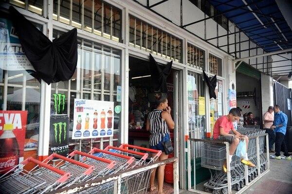 Nicolás Valenciano era uno de los dueños del local Cadena Comercial Naranjo. | GESLINE ANRANGO.