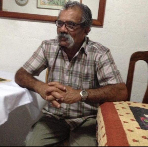 Don Guido Rodrigo Araya Garita era conocido como Bigotes, vivió toda su vida en Curridabat y solía ayudar a los vecinos con arreglos en las casas. Foto: Cortesía/Archivo