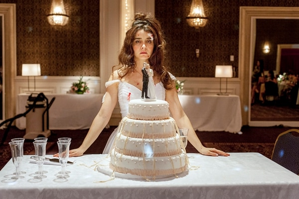 Comedia negra. Erica Rivas es una de las protagonistas de la película argentina Relatos salvajes . AP.
