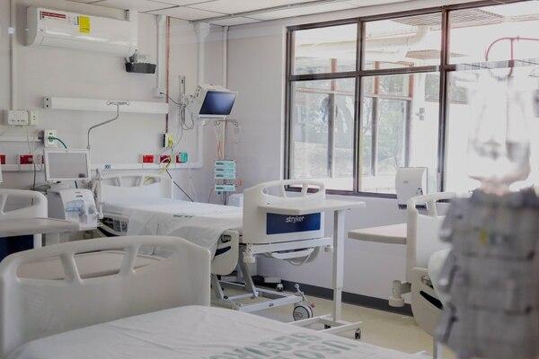 El Centro Nacional de Rehabilitación (Cenare) fue acondicionado como Centro Especializado en la Atención de Pacientes con Covid-19, que comenzó a funcionar en abri. Foto: Cortesía Presidencia