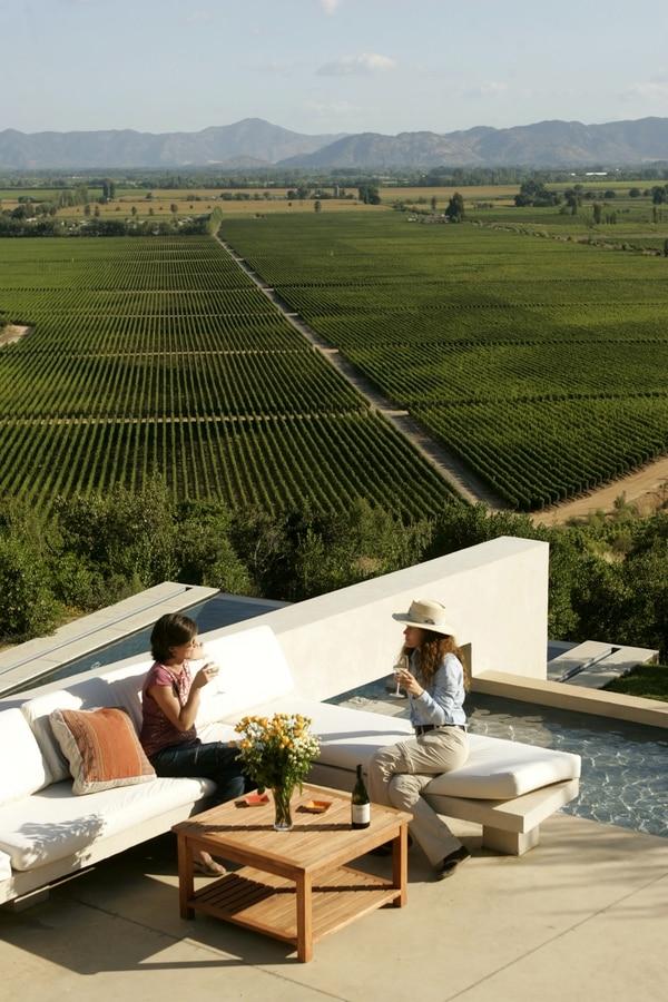 Chile exporta vinos, entre otros bienes, a Centroamérica.