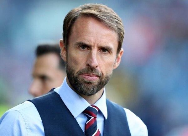 Gareth Southgate, técnico de Inglaterra, previo al duelo amistoso de Inglaterra y Costa Rica. Foto: AP /Scott Heppell