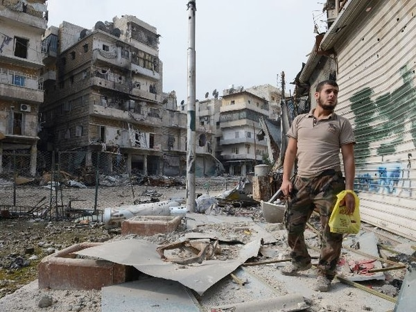 Gobierno sirio y algunos grupos rebeldes acordaron un cese al fuego.   AFP