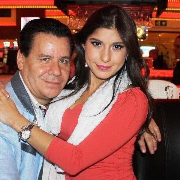 Opo Marín y su adorada Sherlyn Ramos, tenían más de 15 años de ser pareja. Ella falleció en diciembre pasado. Foto Archivo/GN