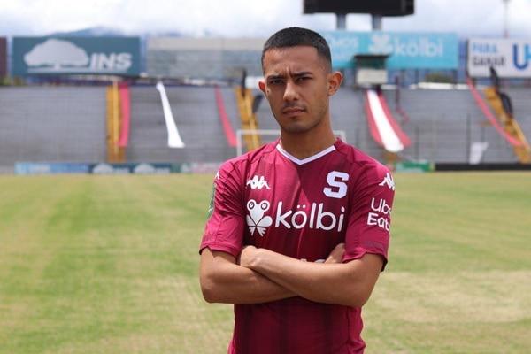 Jimmy Marín fue presentado este viernes con el Saprissa. Foto: Facebook