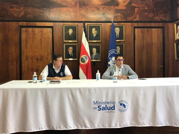Ministro de Salud anuncia nuevas medidas que regirán este fin de semana para procurar que más gente se queda en la casa. Foto: Ministerio de Salud.