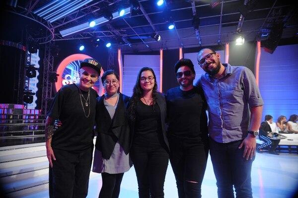 María, Gabriela, María José, Marcia y Simón.Jorge Navarro