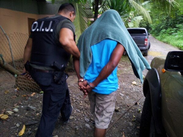 Los seis sospechosos que van a prisión preventiva por la muerte de Jairo Mora fueron detenidos por el OIJ el miércoles durante allanamientos en Cariari de Pococí y barrios de la ciudad de Limón. | ARCHIVO