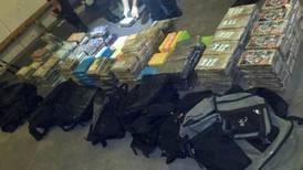 Llamada  anónima facilitó hallazgo de droga en contenedor en Limón