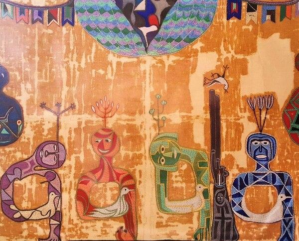 Parte de los carteles que integran la obra. Foto: Prensa del Ministerio de Cultura y Juventud.