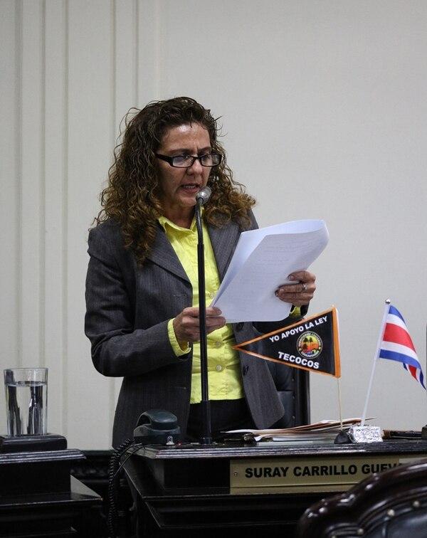 Suray Carrillo asumió la curul en lugar de Ronal Vargas.