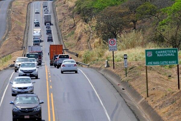 En la mayor parte del trayecto la carretera quedará a cuatro carriles. Foto