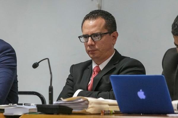 Carlos Meléndez Sequeira, es el fiscal adjunto de Probidad, Transparencia y Anticorrupción. Foto de Andrés Arce.