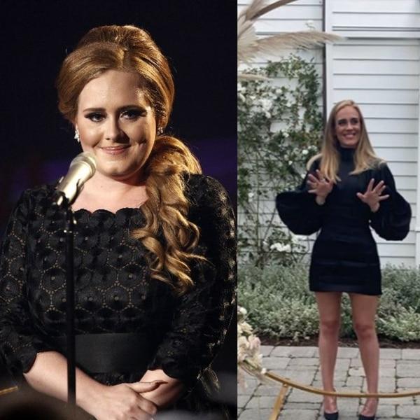 La cantante británica Adele sorprendió al mundo cuando en mayo, a propósito de su cumpleaños 32, mostró su cambio físico. Foto: Archivo.