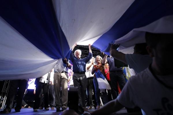 El expresidente Tabaré Vázquez es el favorito de la elección