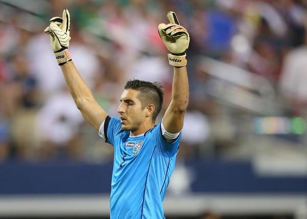 Jaime Penedo registra cinco Copas Oro con Panamá, desde el 2005. | AFP